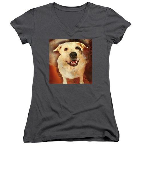 Good Dog Women's V-Neck