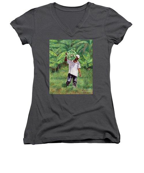 Good Harvest Women's V-Neck (Athletic Fit)