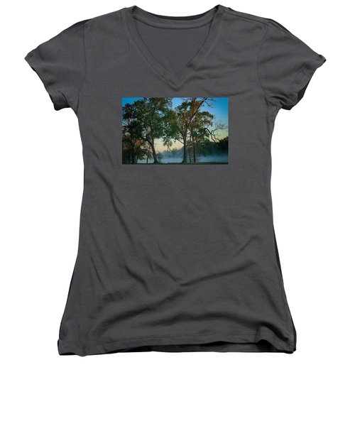 Good Morning Waco Women's V-Neck