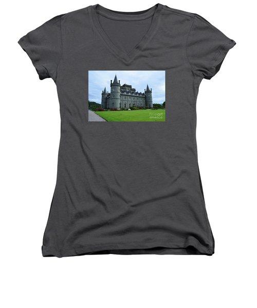 Gorgeous View Of Inveraray Castle Women's V-Neck T-Shirt