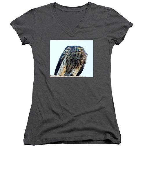 Got My Eyes On You Women's V-Neck T-Shirt