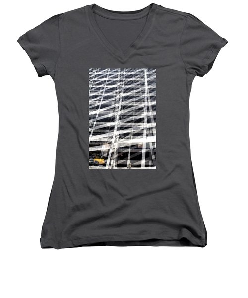 Grace Building Collage 2 Women's V-Neck