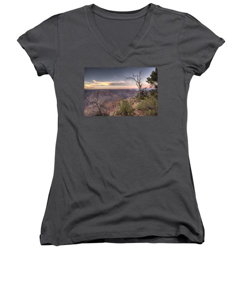 Grand Canyon 991 Women's V-Neck T-Shirt