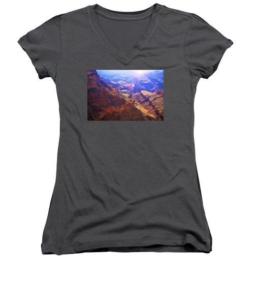 Grand Canyon Arizona 10 Women's V-Neck