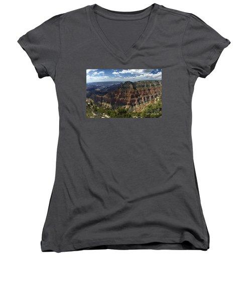Grand Canyon North Rim Women's V-Neck T-Shirt