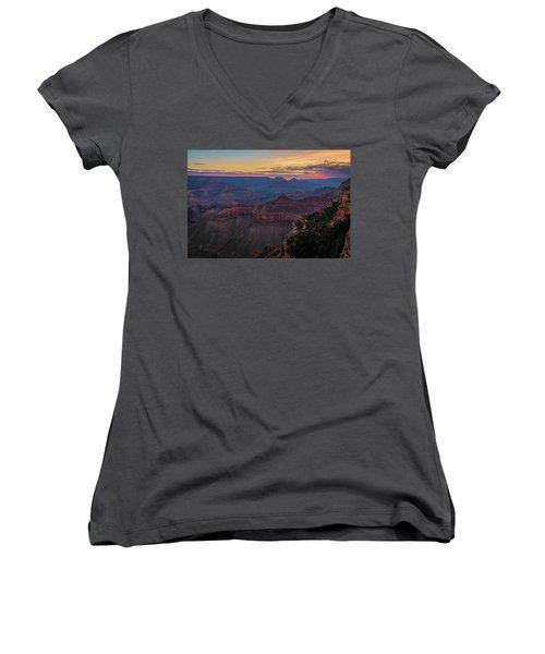 Grand Canyon Sunrise Women's V-Neck