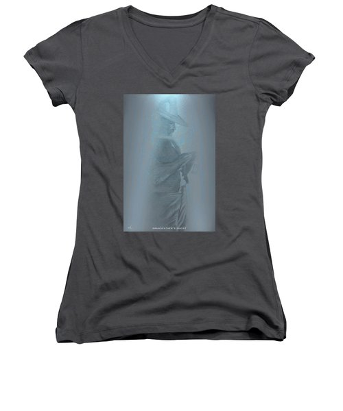 Grandfather's Ghost Women's V-Neck