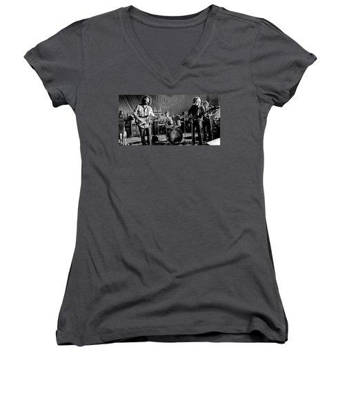 Grateful Dead In Concert - San Francisco 1969 Women's V-Neck T-Shirt