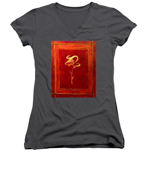 Gratitude Women's V-Neck T-Shirt