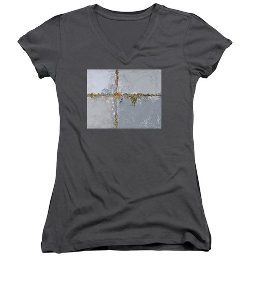 Gray Matters 10 Women's V-Neck T-Shirt