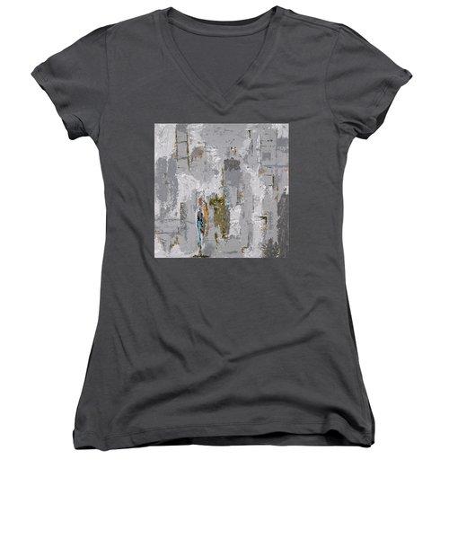 Gray Matters 9 Women's V-Neck T-Shirt