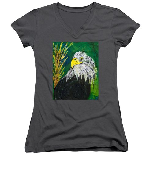 Great Bald Eagle Women's V-Neck