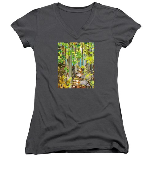 Great Maine Woods Women's V-Neck T-Shirt