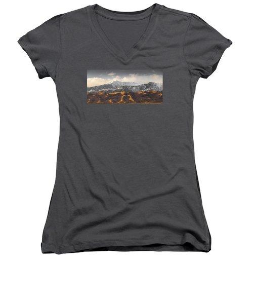 Great Sand Dunes Women's V-Neck
