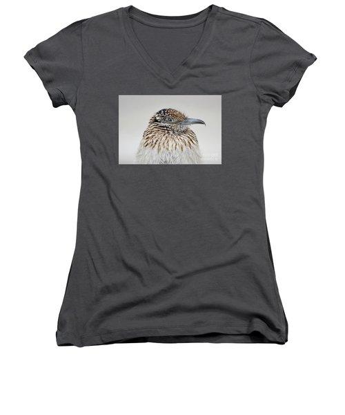 Greater Roadrunner Women's V-Neck T-Shirt