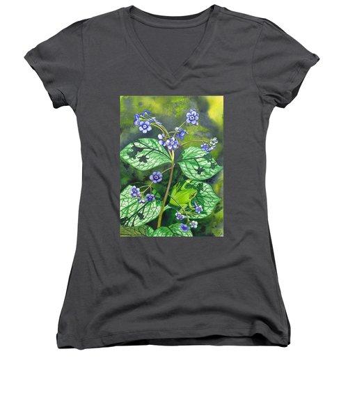 Green Frog Women's V-Neck