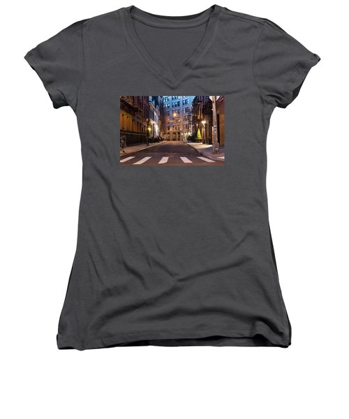 Greenwich Village Women's V-Neck