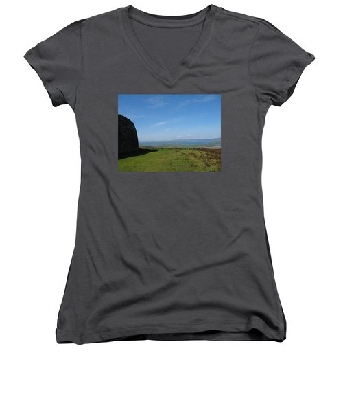 Grianan Of Aileach Women's V-Neck