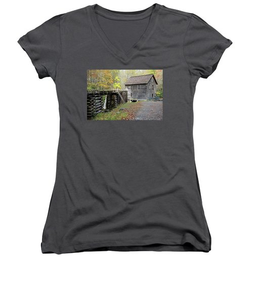 Grist Mill Women's V-Neck T-Shirt