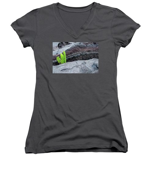 Grow Where You Are Planted Women's V-Neck