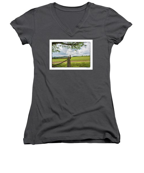 Growing Season Women's V-Neck (Athletic Fit)