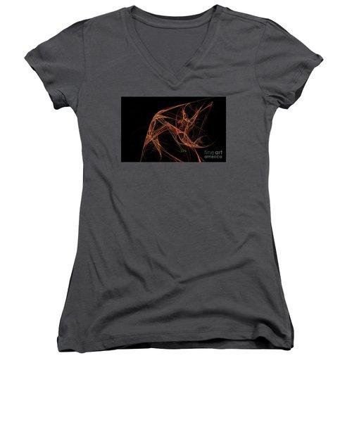 Guajira Women's V-Neck T-Shirt (Junior Cut) by A Dx