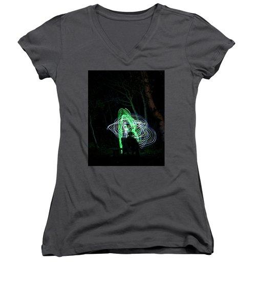 Guardian Women's V-Neck T-Shirt (Junior Cut) by Ellery Russell