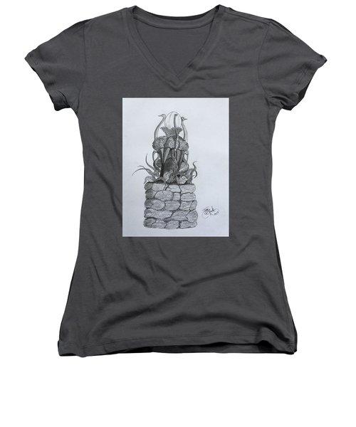 Guardians  Women's V-Neck T-Shirt