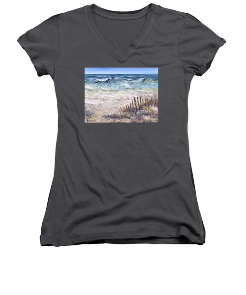 Gulf Coast Perdido Key Women's V-Neck (Athletic Fit)