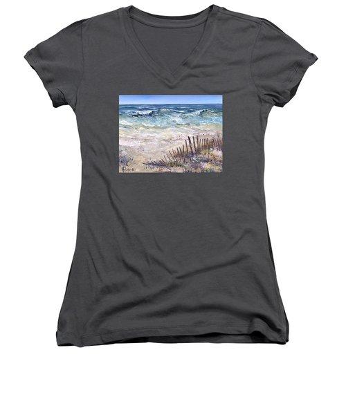 Gulf Coast Perdido Key Women's V-Neck T-Shirt