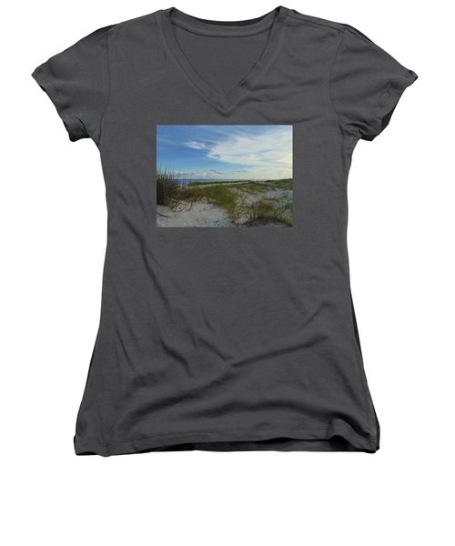 Gulf Islands National Seashore Women's V-Neck