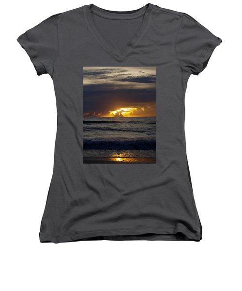 Gulf Sunset Women's V-Neck