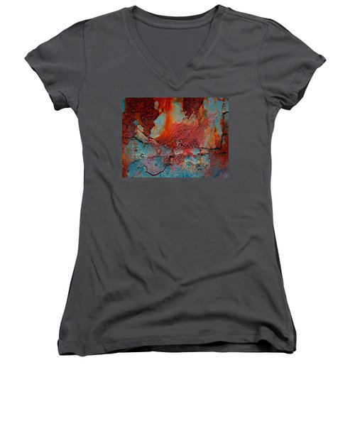 Gutters That Speak  Women's V-Neck T-Shirt