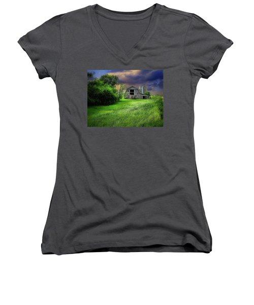Half Silo Women's V-Neck T-Shirt