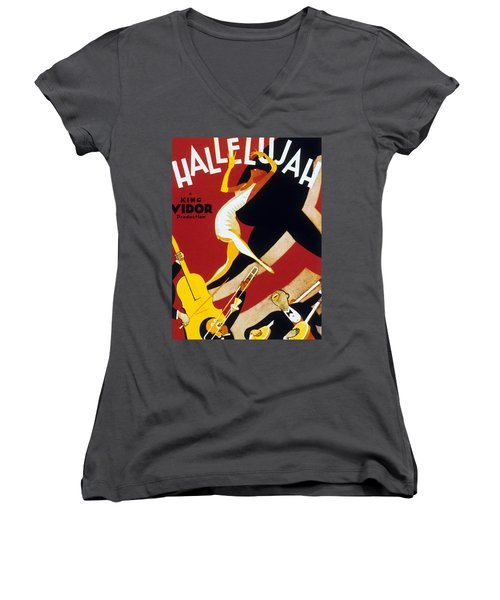 Hallelujah Women's V-Neck (Athletic Fit)