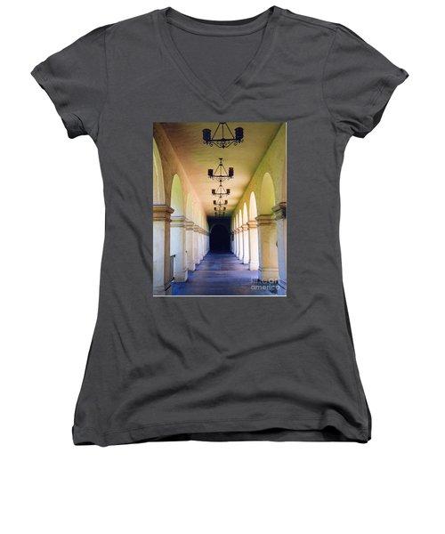 Hallowed Halls Women's V-Neck