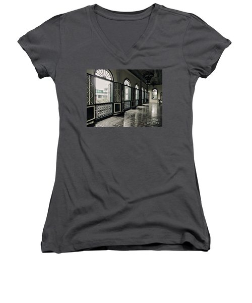Hallway Women's V-Neck (Athletic Fit)
