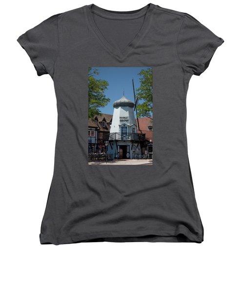 Hamlet Square Women's V-Neck T-Shirt