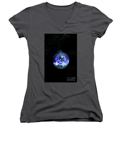 Handpainted Ornament 001 Women's V-Neck (Athletic Fit)
