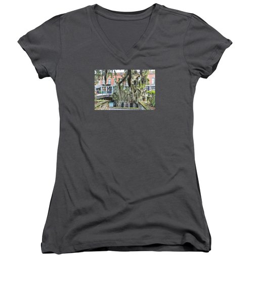 Hangin Loose Women's V-Neck (Athletic Fit)