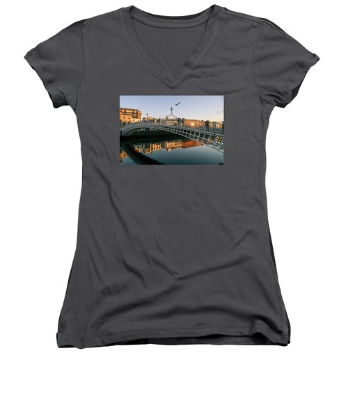 Ha'penny Bridge Women's V-Neck