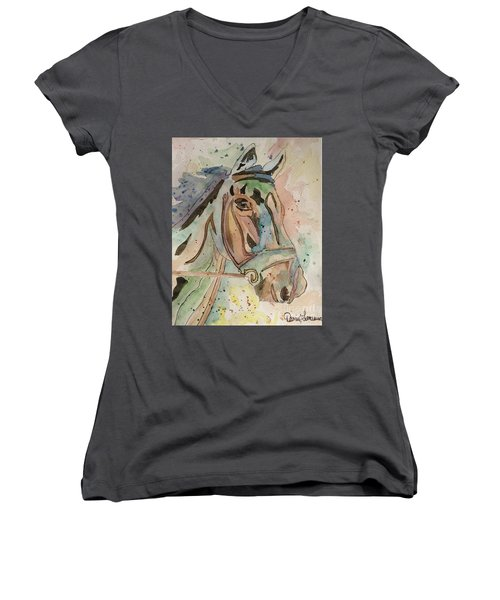 Happy Horse Women's V-Neck