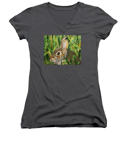 Hare's Breath Women's V-Neck (Athletic Fit)