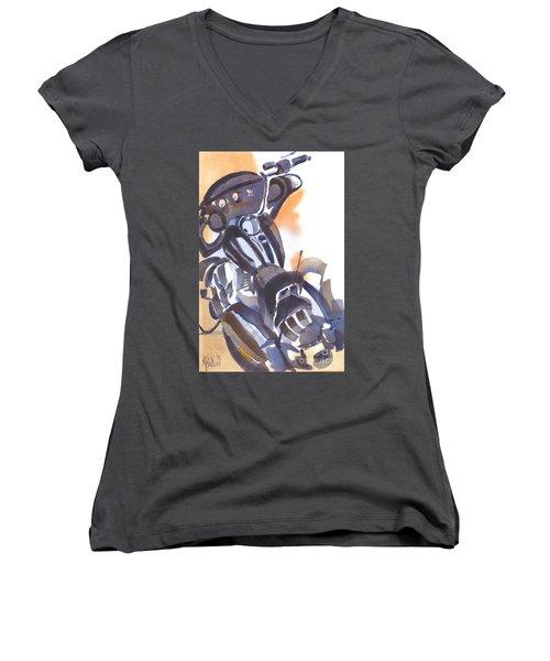 Motorcycle Iv Women's V-Neck