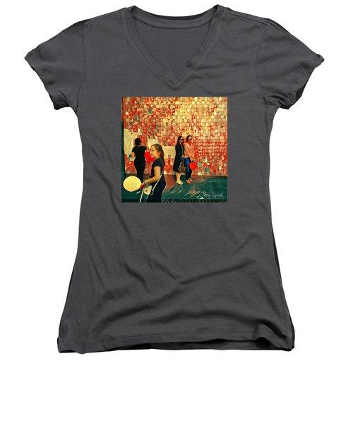 Harvest Moon Festival Women's V-Neck T-Shirt