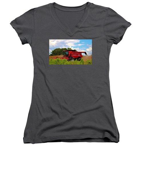 Harvest Time Women's V-Neck