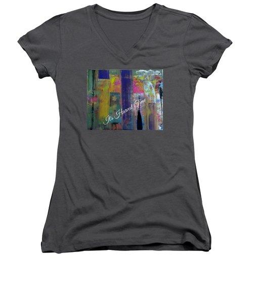 Harvest Time Jubilee Women's V-Neck T-Shirt