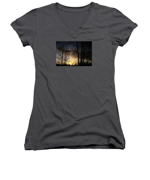 Haunt Women's V-Neck T-Shirt