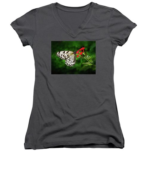 Haven't You Noticed The Butterflies? Women's V-Neck
