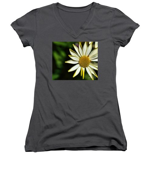 He Loves Me Women's V-Neck (Athletic Fit)
